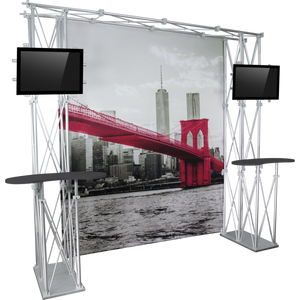10ft Backwall Construo 10ft Popup Truss Display