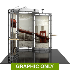 GRAPHIC ONLY - 10ft Exhibit Cygnus Orbital Express Truss Replacement Graphic