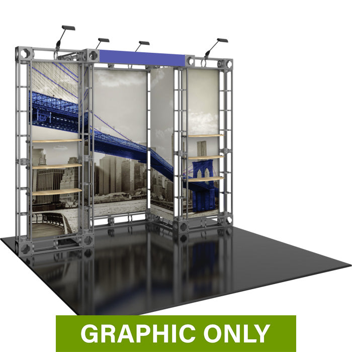 GRAPHIC ONLY - 10ft Exhibit Eros Orbital Express Truss Replacement Graphic