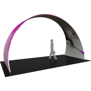 20Ft Arch 03 Tension Fabric Formulate Exhibit Structure