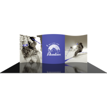 Load image into Gallery viewer, 20ft Tradeshow Fabric Backwall 01 Formulate Designer Series