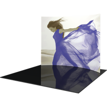Load image into Gallery viewer, 10ft Formulate Master HC1 Horizontal Curve Fabric Backwall