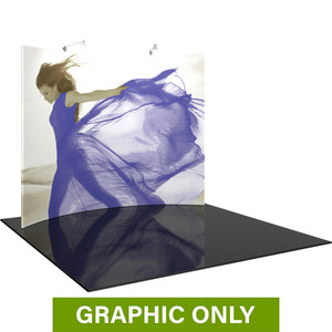 GRAPHIC ONLY - 10ft Formulate Master HC2 Horizontal Curve Fabric Backwall Replacement Graphic