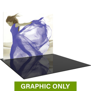 GRAPHIC ONLY - 10ft Formulate Master S1 Straight Fabric Backwall Replacement Graphic