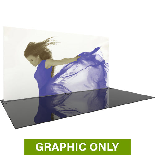 GRAPHIC ONLY - 20ft Formulate Master Straight 10ft Tall Tradeshow Fabric Backwall Replacement Graphic