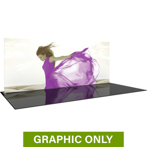 GRAPHIC ONLY - 20ft Formulate Master WS1 Straight Frame Tradeshow Fabric Backwall Replacement Graphic