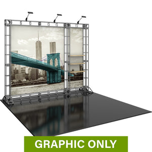 GRAPHIC ONLY - 10ft Backwall Hercules 08 Orbital Express Truss Replacement Graphic