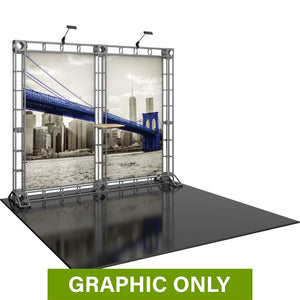 GRAPHIC ONLY - 10ft Backwall Hercules 09 Orbital Express Truss Replacement Graphic