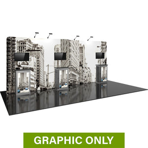 GRAPHIC ONLY - 20ft Hybrid Pro 14  Backwall Replacement Graphic