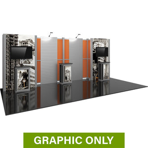 GRAPHIC ONLY - 20ft Hybrid Pro 16  Backwall Replacement Graphic