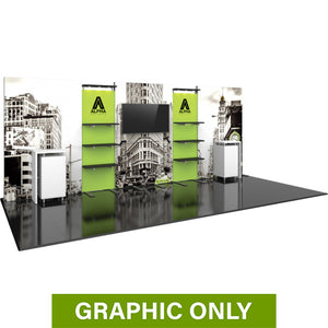 GRAPHIC ONLY - 20ft Hybrid Pro 31  Backwall Replacement Graphic
