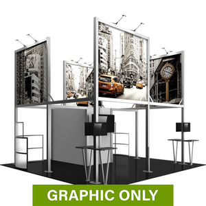 GRAPHIC ONLY - 20X20  - Island Booth Hybrid Pro 19 Replacement Graphic