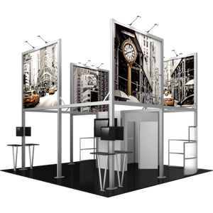 20X20 Trade Show Exhibit - Island Booth Hybrid Pro 19