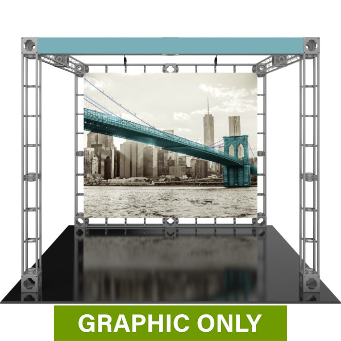 GRAPHIC ONLY - 10ft Exhibit Luna 1 Orbital Express Truss Replacement Graphic