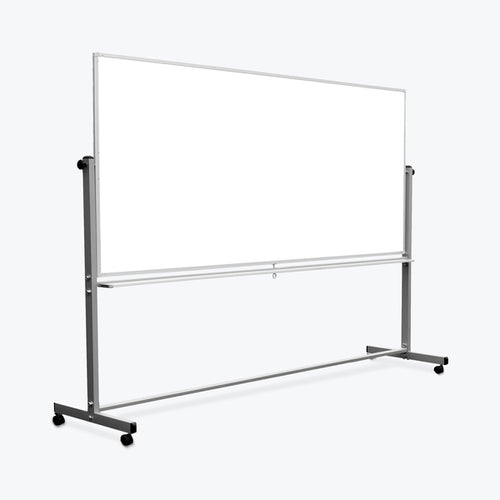 Mobile Double-Sided Magnetic Whiteboard