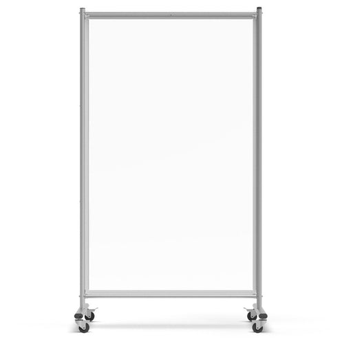 Mobile Magnetic Whiteboard Room Divider