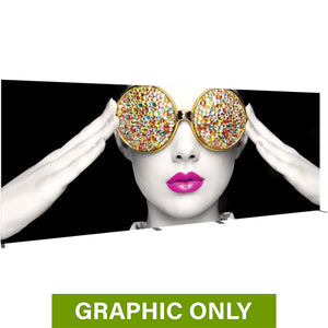 GRAPHIC ONLY - BACKLIT - 20ft X 8ft Light Box Vector Frame 7 Fabric Banner Replacement Graphic