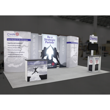 Load image into Gallery viewer, BACKLIT - 20ft Vector Frame Master 19 Trade Show Backwall