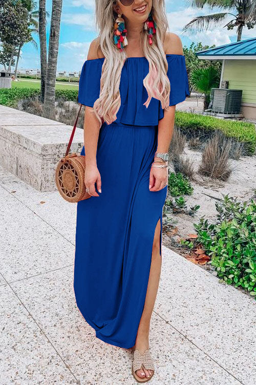 Berrymoda Joom Split Maxi Dress