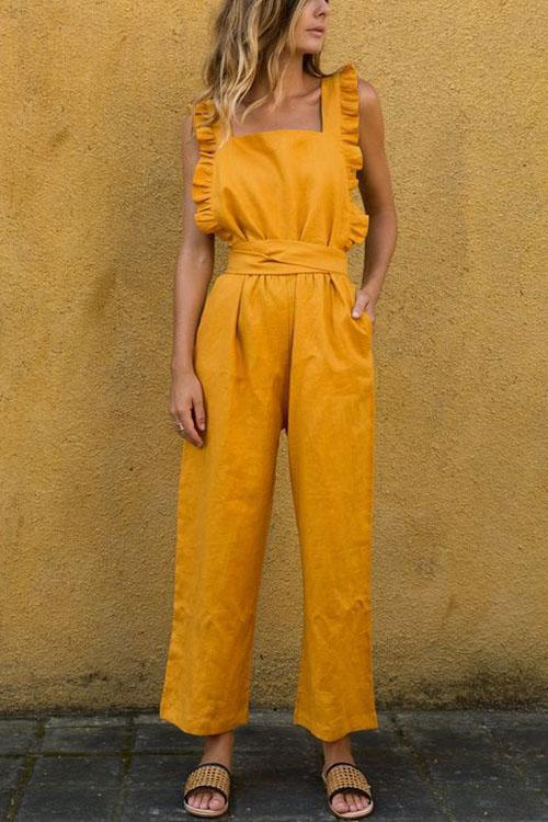 Berrymoda Daisy Strap-on Wonderful Jumpsuit