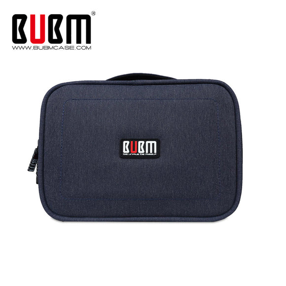BUBM Gadget Organizer Case Digital Storage Bag Electronics Organizer for Chargers Cables Hard Drive iPad Mini Protection Pouch