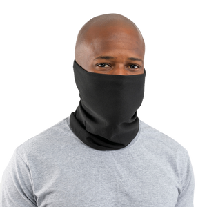 Black USA Face Defender Neck Gaiters (Buy More, Save More!) Masks by Design Express