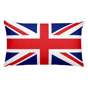 Default Title Akrotiri and Dhekelia Flag Allover Print Rectangular Pillow Home by Design Express