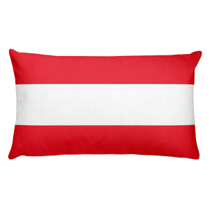 Default Title Austria Flag Allover Print Rectangular Pillow Home by Design Express
