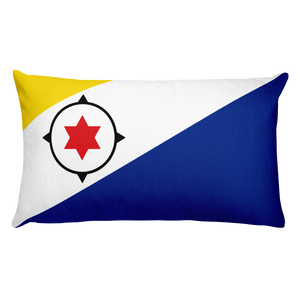 Default Title Bonaire Flag Allover Print Rectangular Pillow Home by Design Express