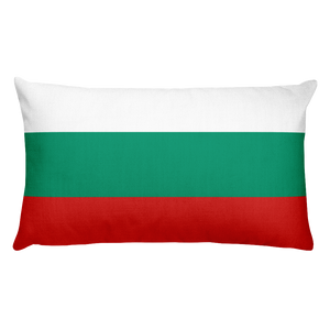 Default Title Bulgaria Flag Allover Print Rectangular Pillow Home by Design Express