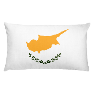 Default Title Cyprus Flag Allover Print Rectangular Pillow Home by Design Express