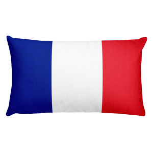Default Title French Guiana Flag Allover Print Rectangular Pillow Home by Design Express
