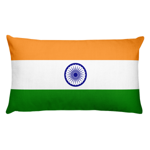 Default Title India Flag Allover Print Rectangular Pillow Home by Design Express