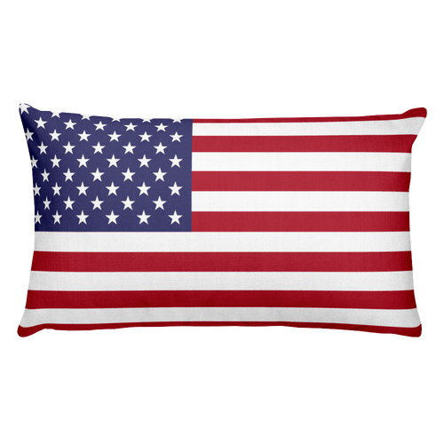 Default Title Jarvis Island Flag Allover Print Rectangular Pillow Home by Design Express