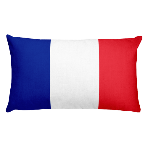 Default Title Mayotte Flag Allover Print Rectangular Pillow Home by Design Express