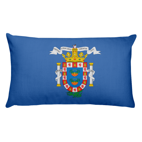 Default Title Melilla Flag Allover Print Rectangular Pillow Home by Design Express