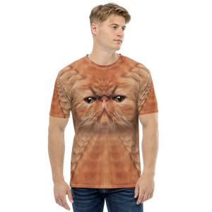 "XS Persian Cat ""All Over Animal"" Men's T-shirt All Over T-Shirts by Design Express"