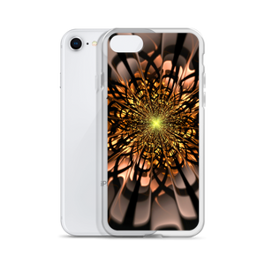 Abstract Flower 02 iPhone Case by Design Express