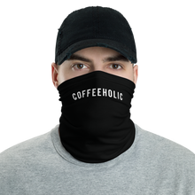 Default Title #COFFEEHOLIC Hashtag Neck Gaiter Masks by Design Express