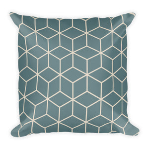 Diamonds Riverway Kestrel White Square Premium Pillow by Design Express