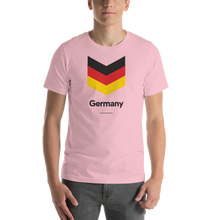 "Pink / S Germany ""Chevron"" Unisex T-Shirt by Design Express"