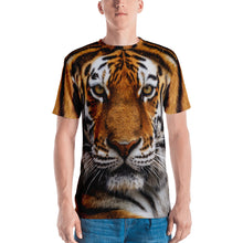 "XS Tiger ""All Over Animal"" Men's T-shirt All Over T-Shirts by Design Express"
