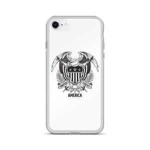 iPhone 7/8 United States Of America Eagle Illustration iPhone Case iPhone Cases by Design Express