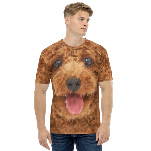 XS Poodle Dog Men's T-shirt by Design Express