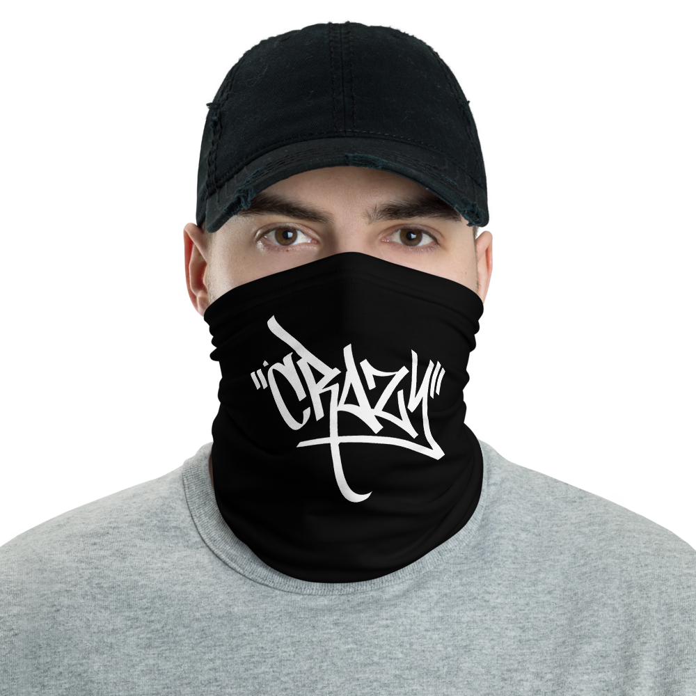 Default Title Crazy Graffiti Neck Gaiter Masks by Design Express