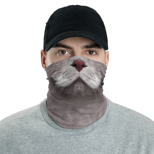 Default Title Cat Neck Gaiter Masks by Design Express