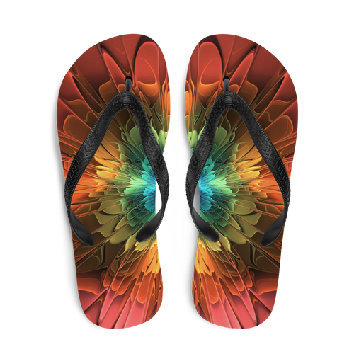 Abstract Flower 03 Flip-Flops by Design Express