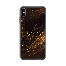 iPhone XS Max Gold Swirl iPhone Case by Design Express