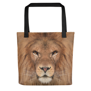 "Black Lion ""All Over Animal"" Tote bag Totes by Design Express"