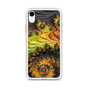 Colourful Fractals iPhone Case by Design Express